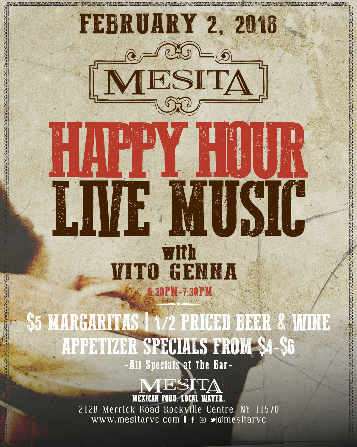 Live Music by Vito Genna