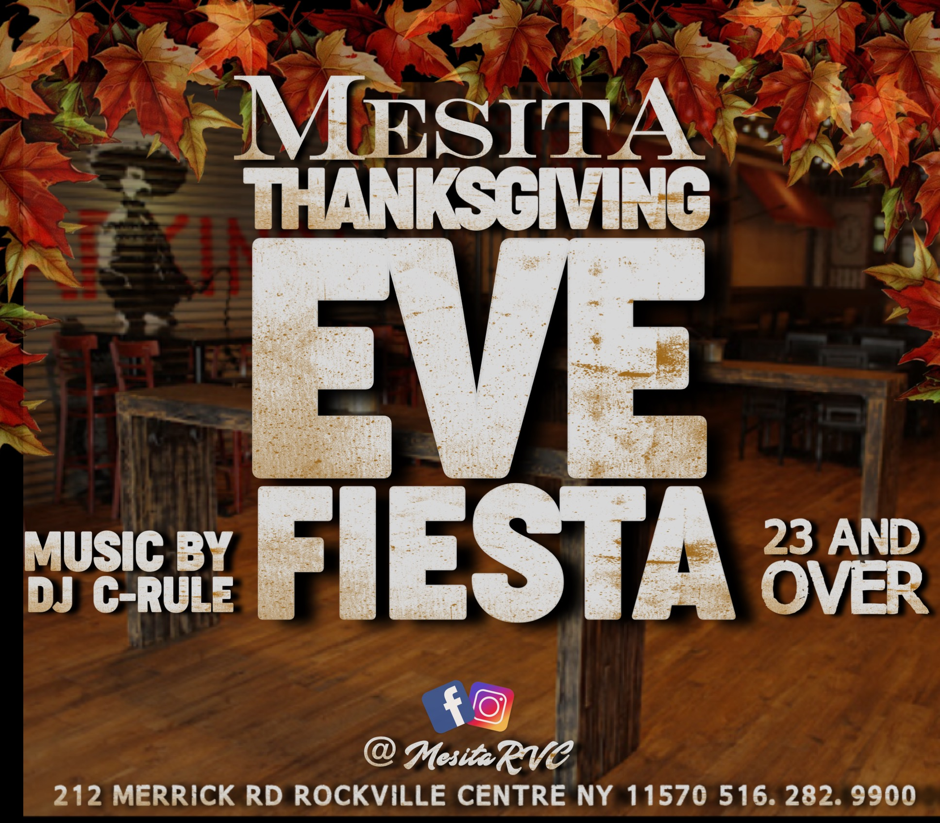 Thanksgiving Eve Fiesta