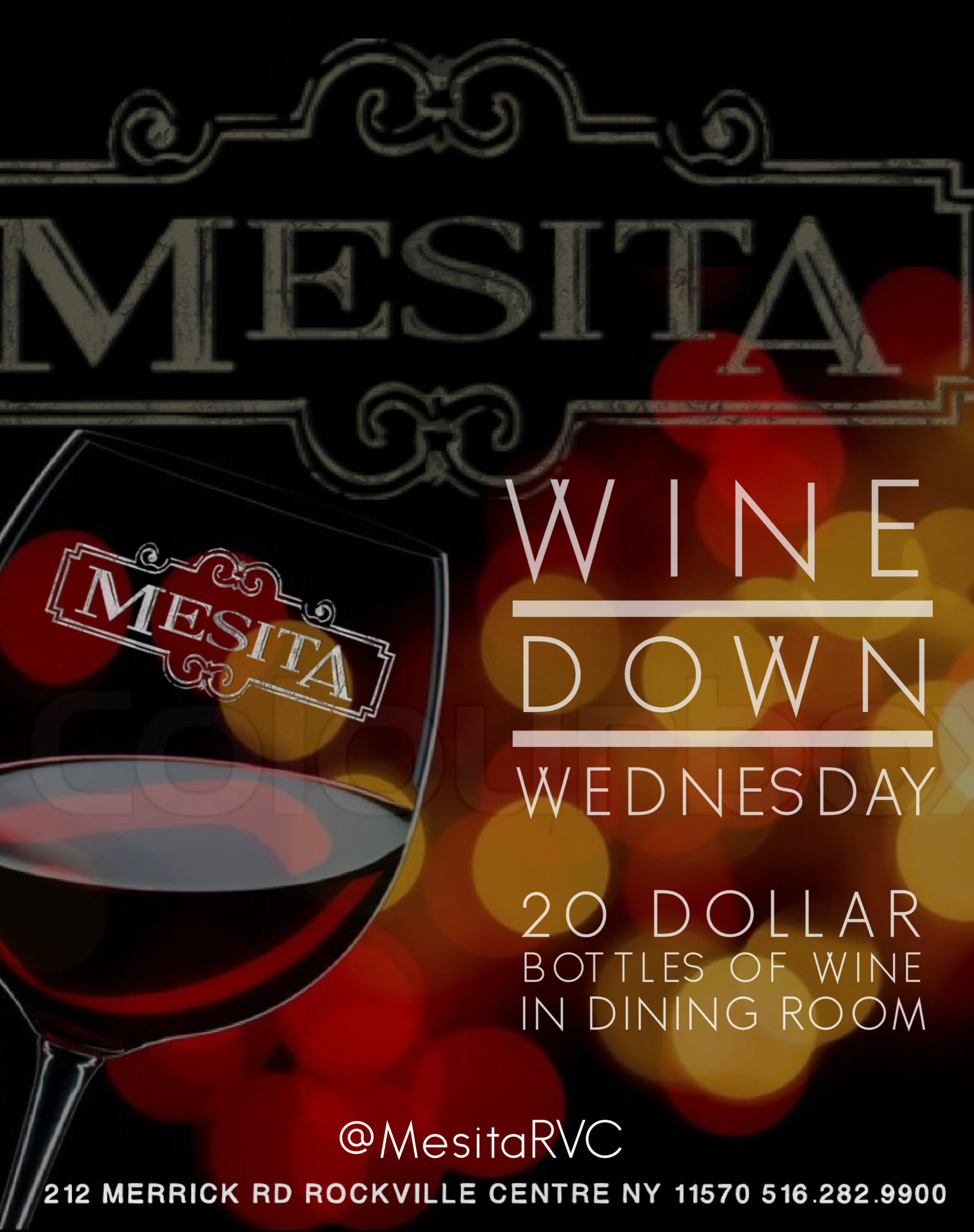 Wine Down Wednesdays!