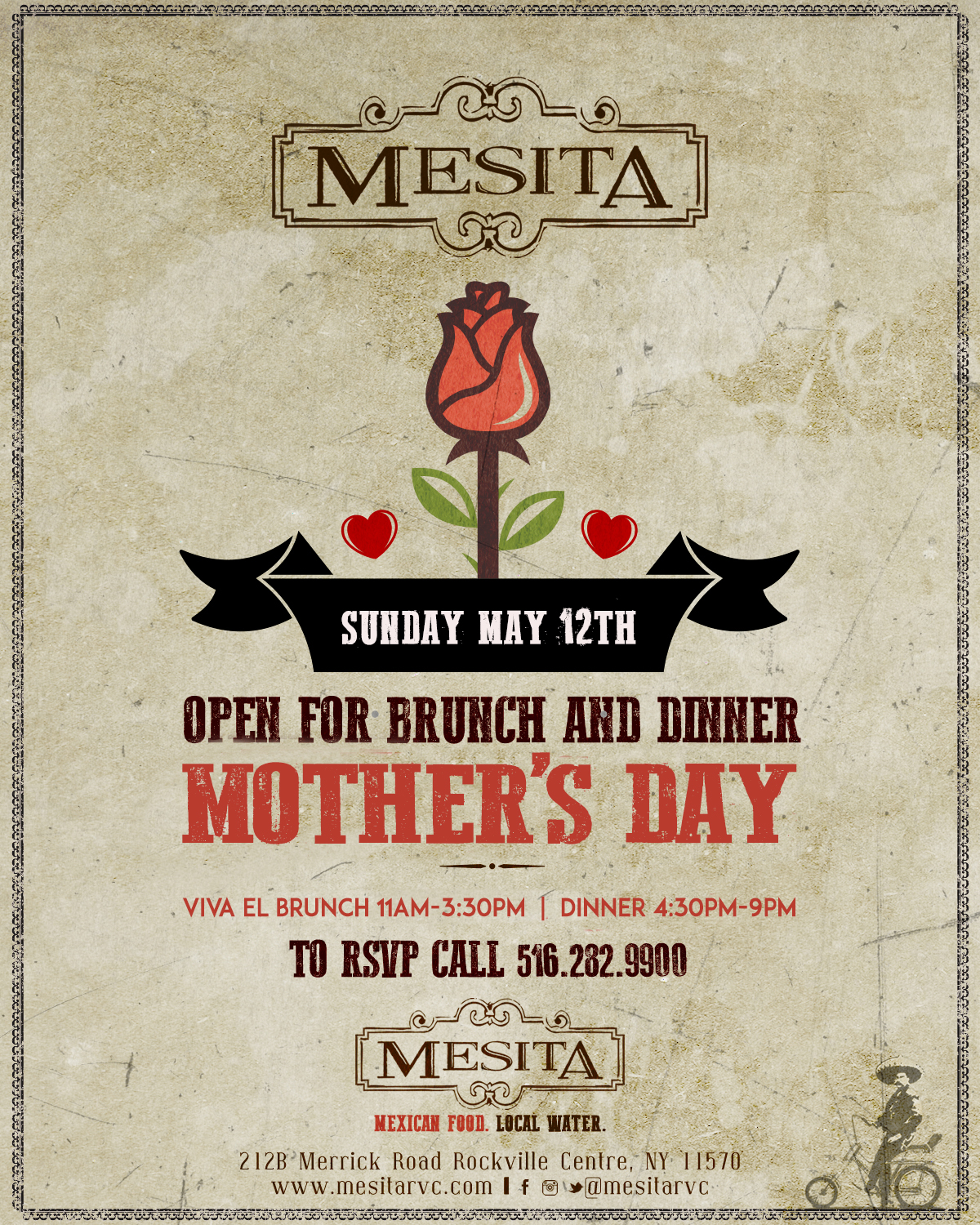 Mother's Day at Mesita!